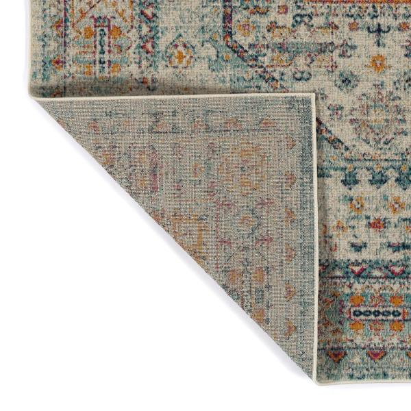 Kaleen Zuma Beach Collection Multi 3 Ft 11 In X 5 Ft 3 In Rectangle Indoor Outdoor Area Rug Zum10 86 31153 The Home Depot