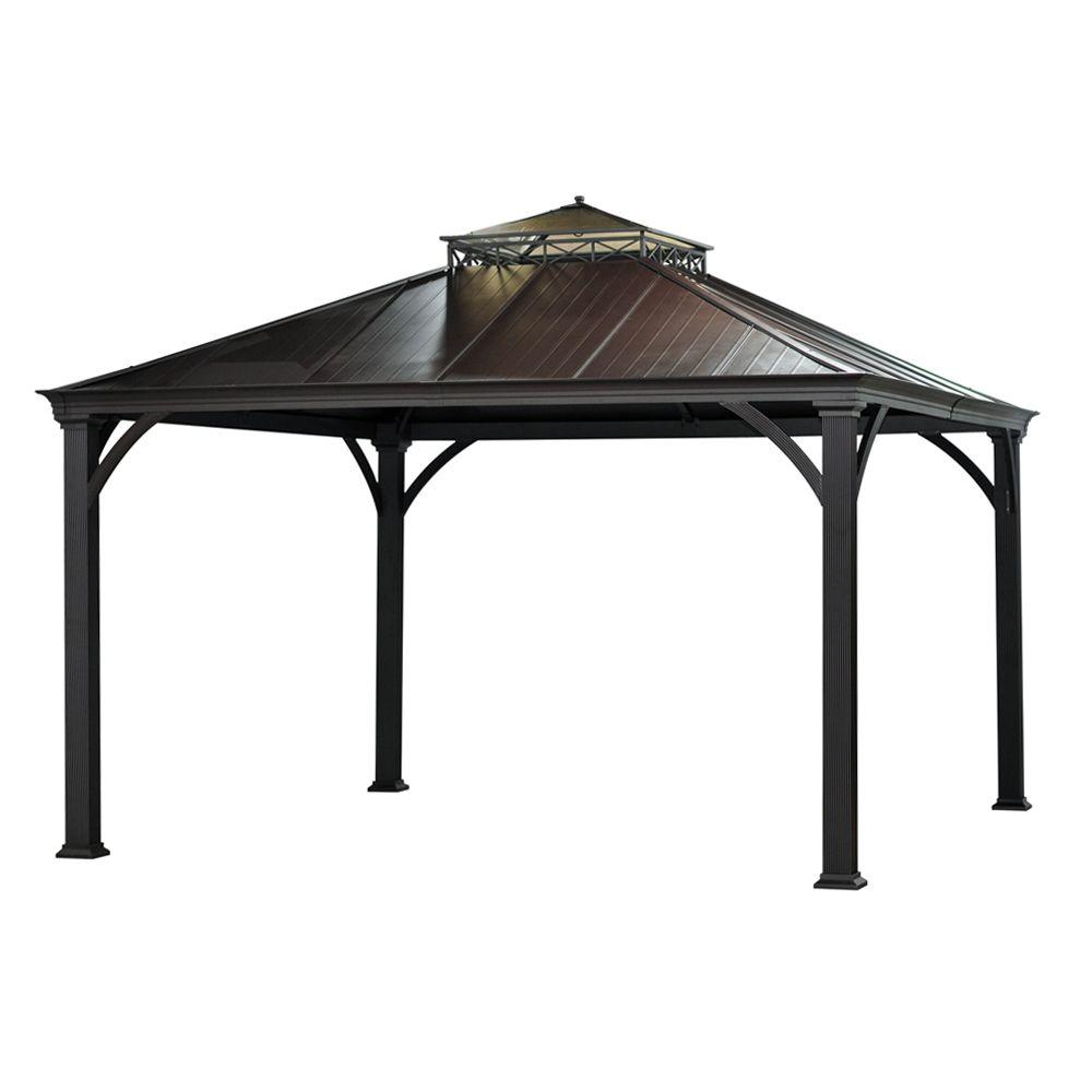 Jackson 12 Ft X 10 Ft Hardtop Gazebo L Gz401pco 2 The