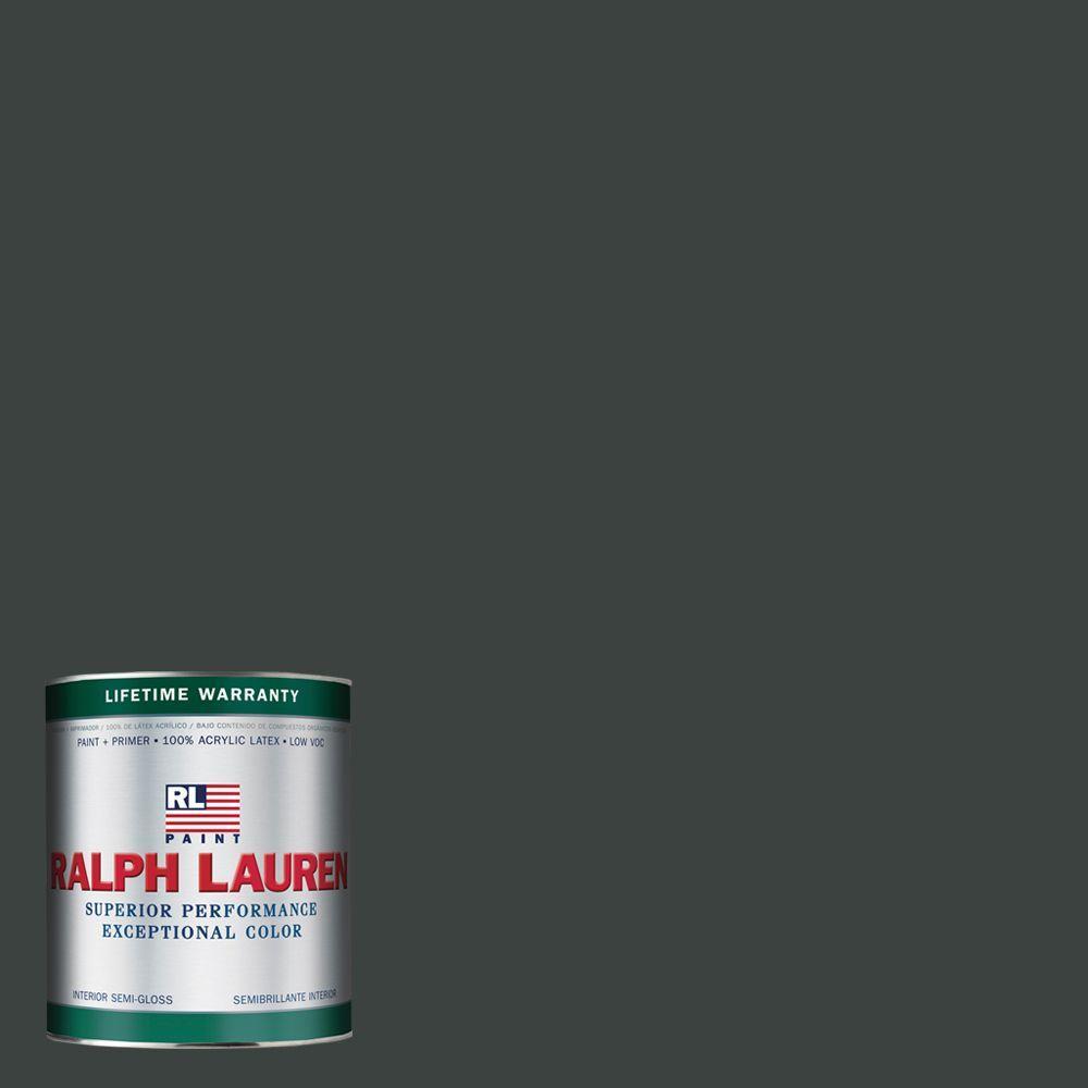 Ralph Lauren 1-qt. Black Basalt Semi-Gloss Interior Paint