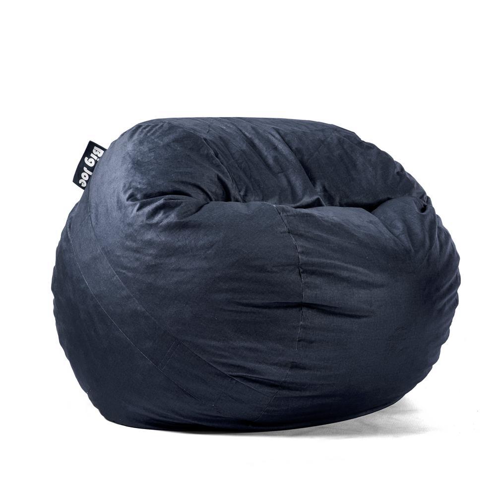Joe Medium Fuf Shredded Ahhsome Foam Cobalt Lenox Bean Bag