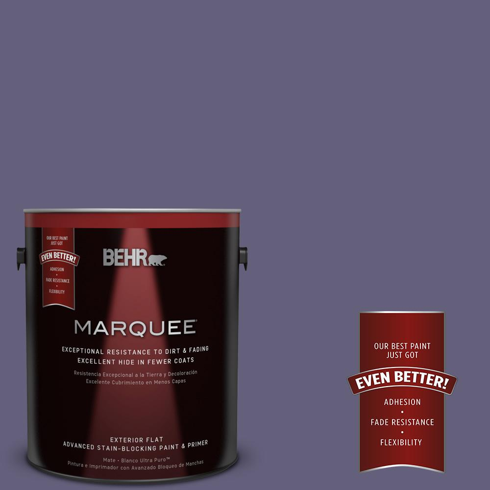 BEHR MARQUEE 1-gal. #T13-16 Pine Cone Pass Flat Exterior Paint
