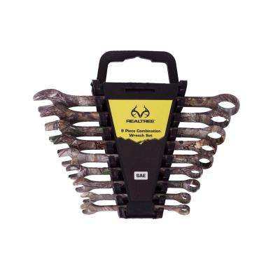 SAE Combination Wrench Set (9-Piece)