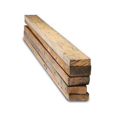 2 in. x 4 in. x 3 ft. Reclaimed Pallet Boards (5-Pack)