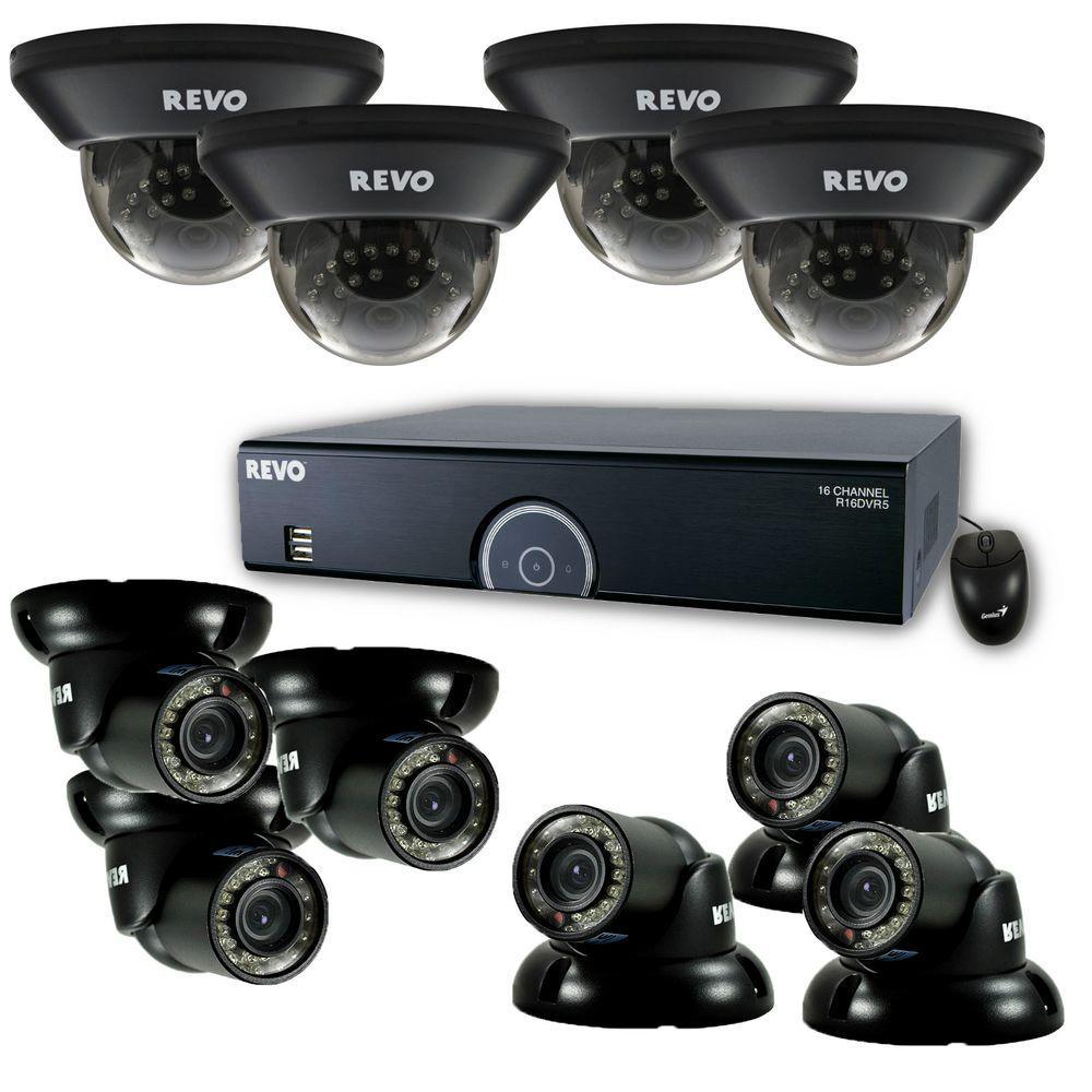 Revo 16-Channel 2TB 960H DVR Surveillance System with (10) 700 TVL 100 ft. Night Vision Cameras