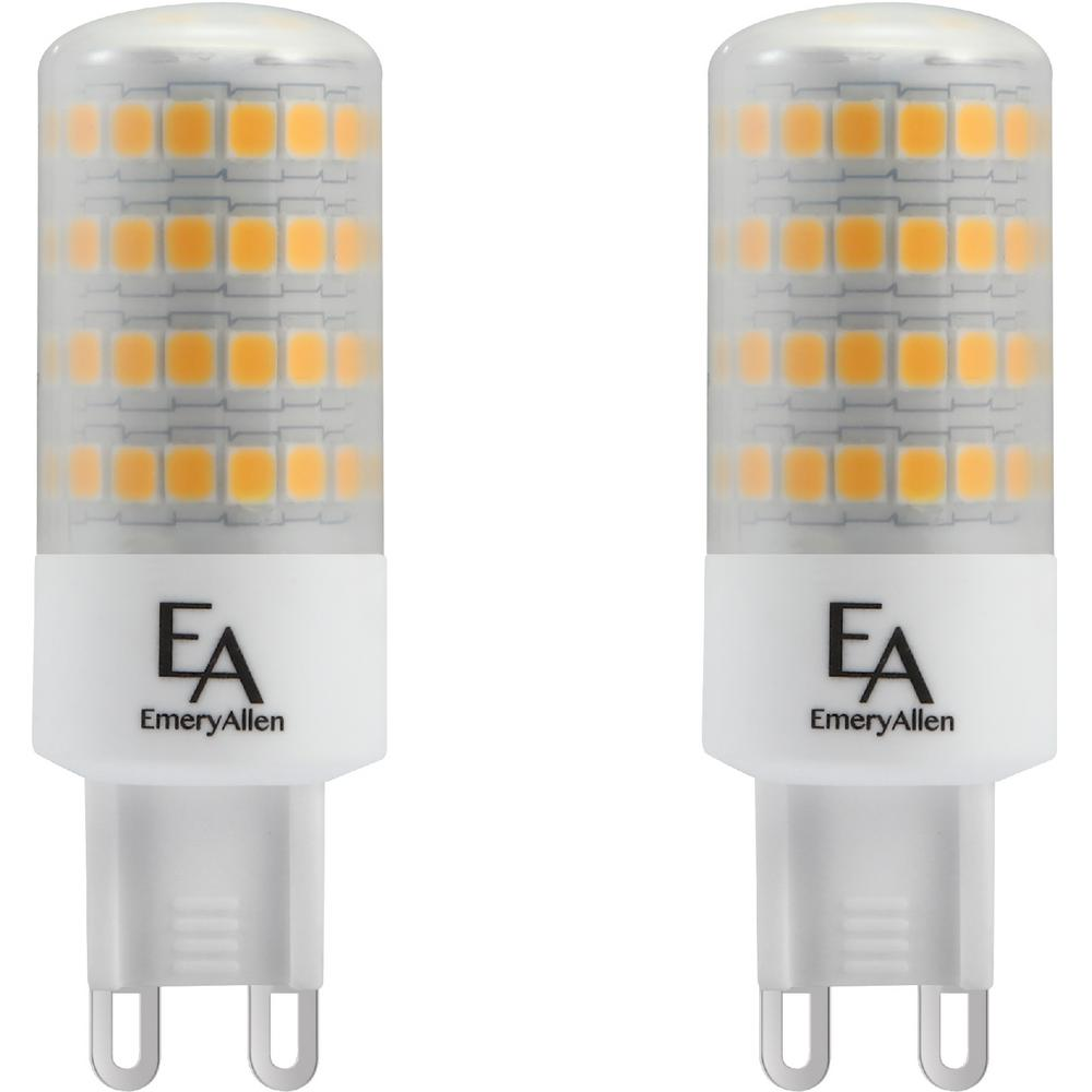 Emeryallen 60 Watt Equivalent G9 Base Dimmable 3000k Led