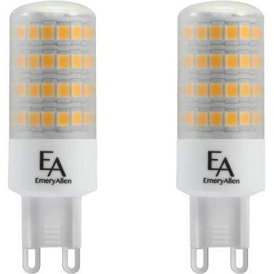 60-Watt Equivalent G9 Base Dimmable 3000K LED Light Bulb Soft White (2-Pack)