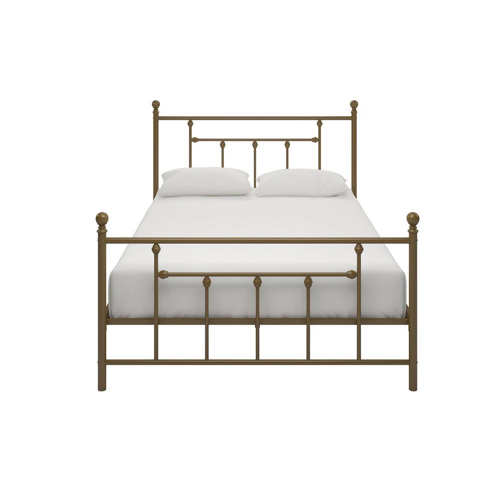Mia Gold Full Metal Bed