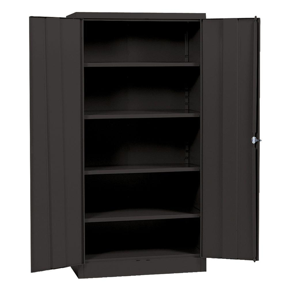 Sandusky 72 in h x 36 in w x 18 in d steel 5 shelf for Kitchen cabinets 36 x 18