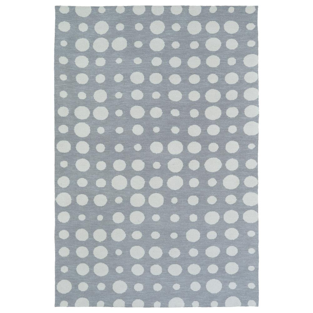 Lily and Liam Grey 8 ft. x 10 ft. Area Rug