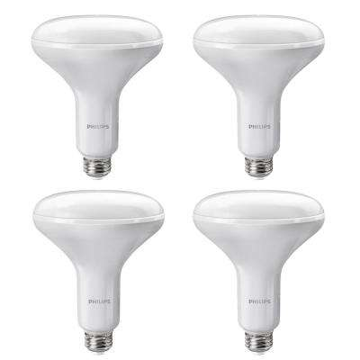 65-Watt Equivalent BR40 Dimmable LED Soft White with Warm Glow Light Effect (E)* (4-Pack)