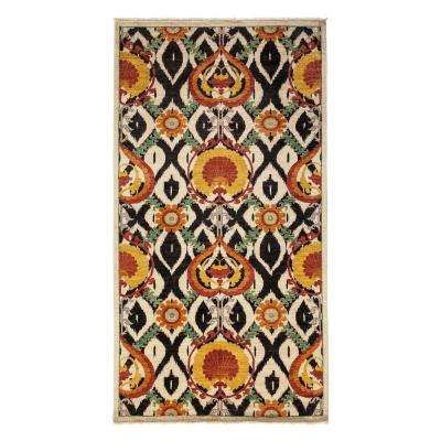 Arts Ivory 5 ft. x 10 ft. Indoor Area Rug