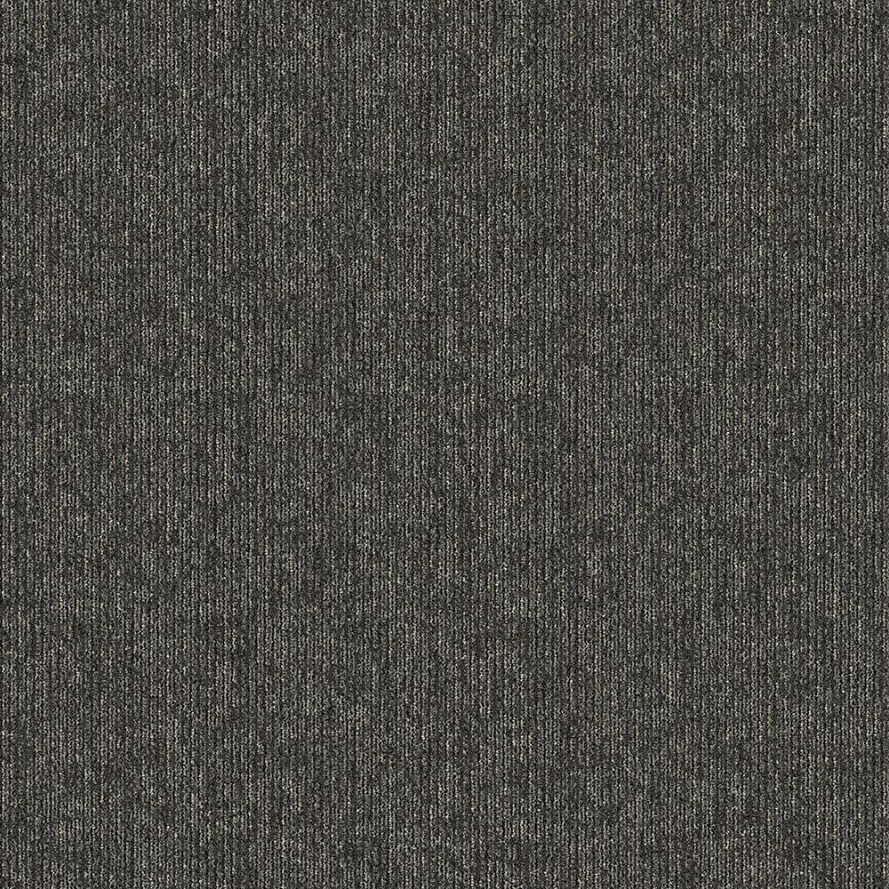 Crescent Creek On Demand Textured 24 in. x 24 in. Carpet Tile (24 Tiles/Case)