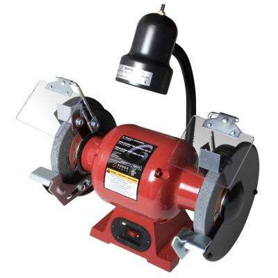6 in. Bench Grinder with Light