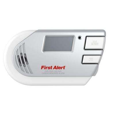 Plug-In Explosive Gas and Carbon Monoxide Alarm with Digital Display