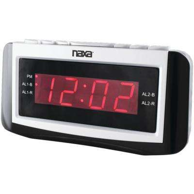Digital Alarm Clock with Large Led Display