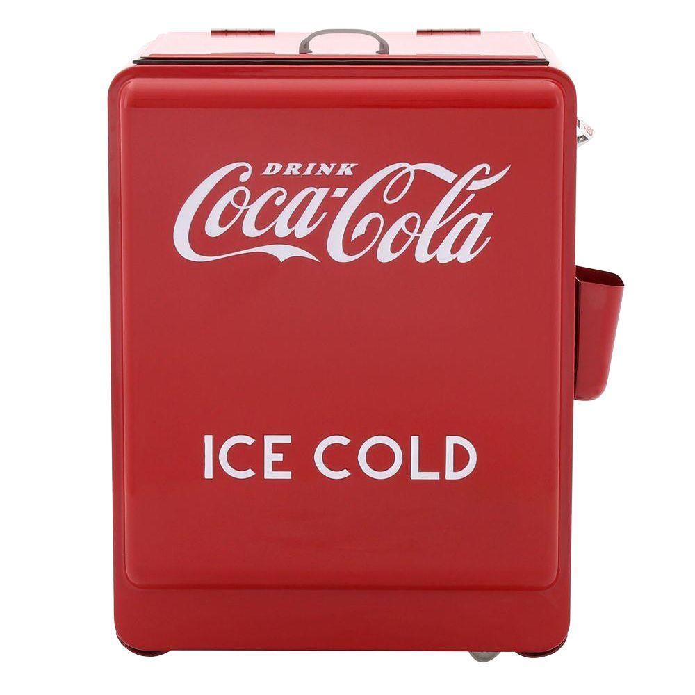 80-Can Coca-Cola Refrigerated Machine
