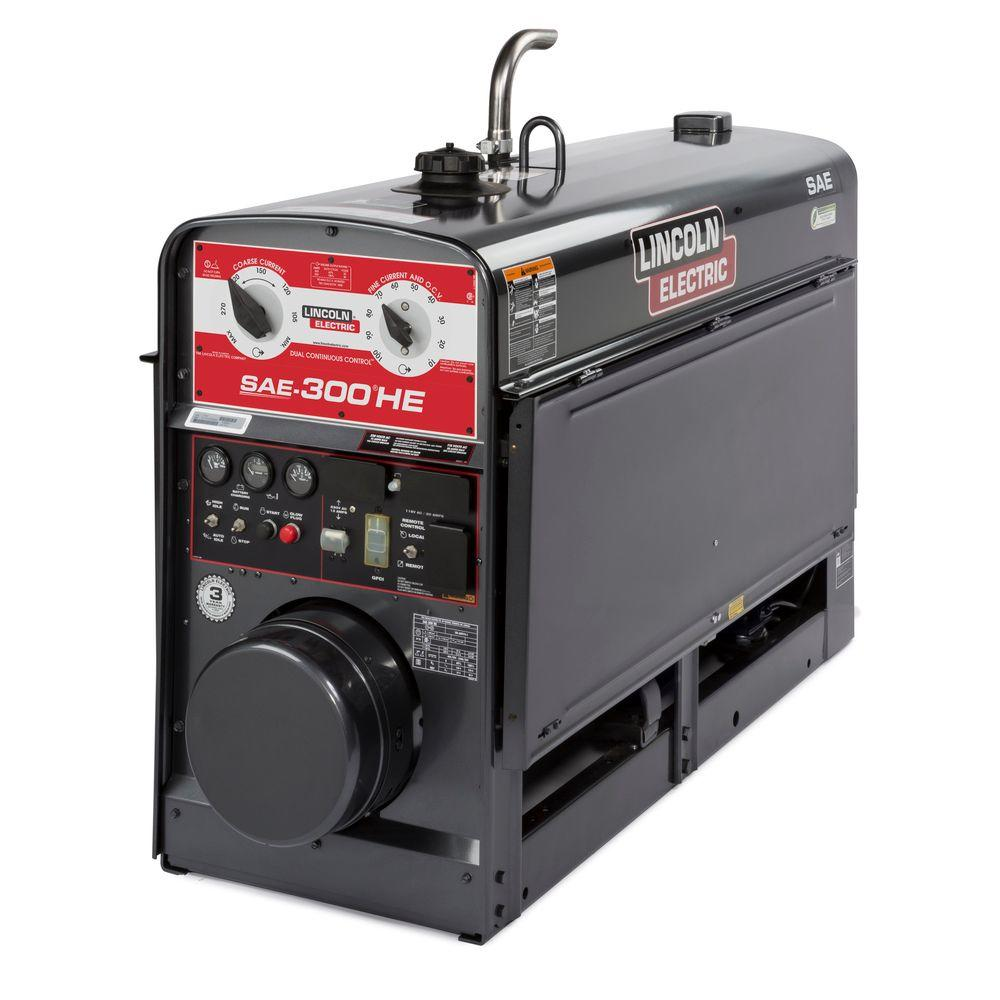null Lincoln ELectric SAE-300 HE Kubota EPA Tier 4 Engine Driven Stick Welder/Generator
