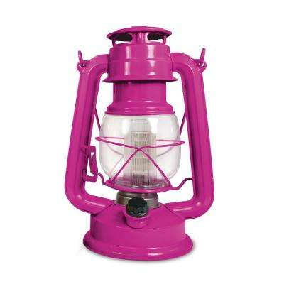 150 Lumen Vintage Hawaiian Orchid Battery Operated 12 LED Lantern