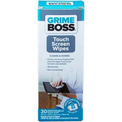 Touch Screen Wipes (30-Count)