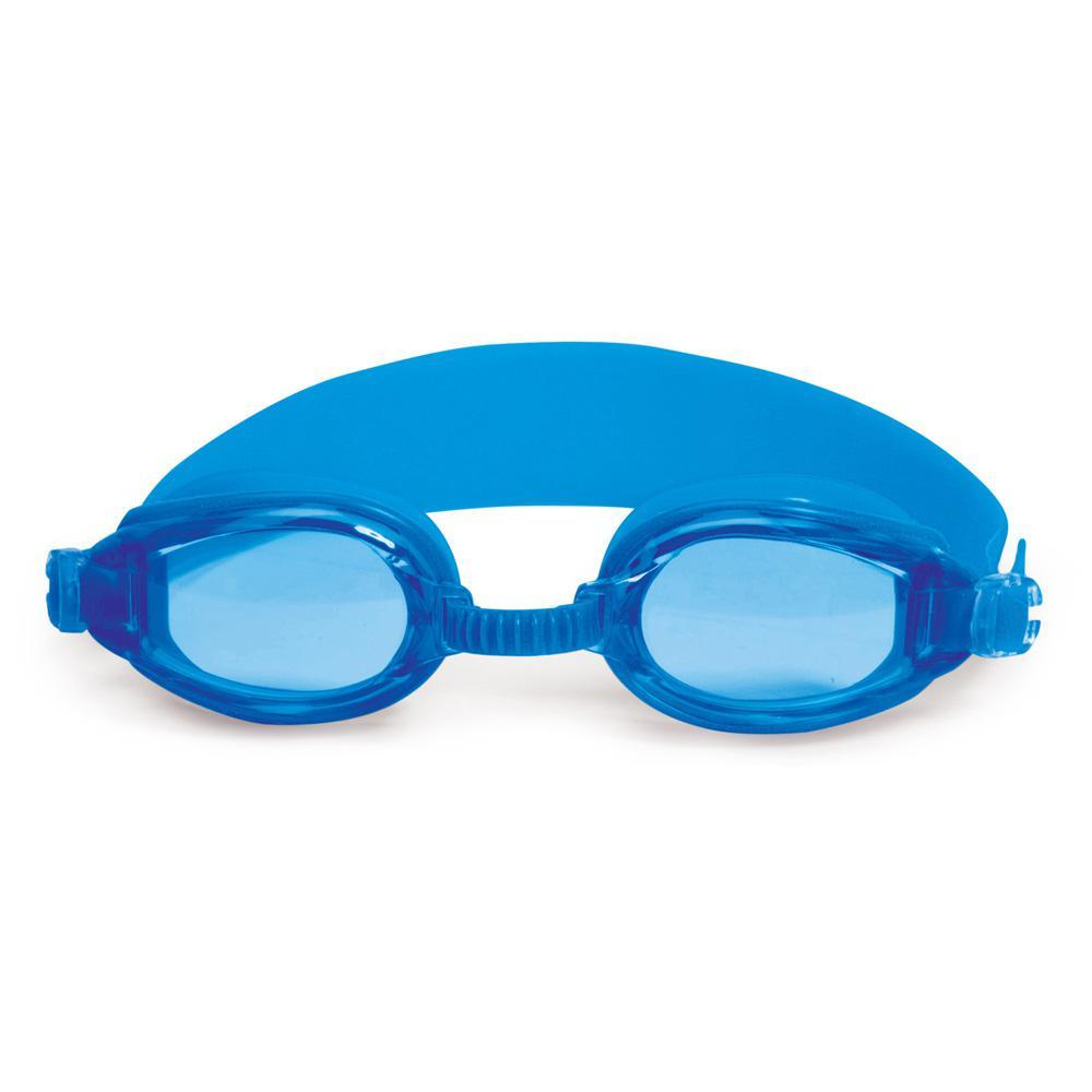 edcb3724953 Poolmaster Advantage Blue Junior Goggles-94460-B - The Home Depot