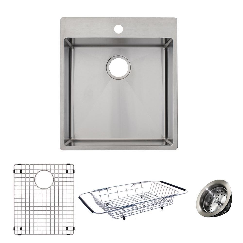 Stainless Steel Kitchen Sinks With Slim Rim