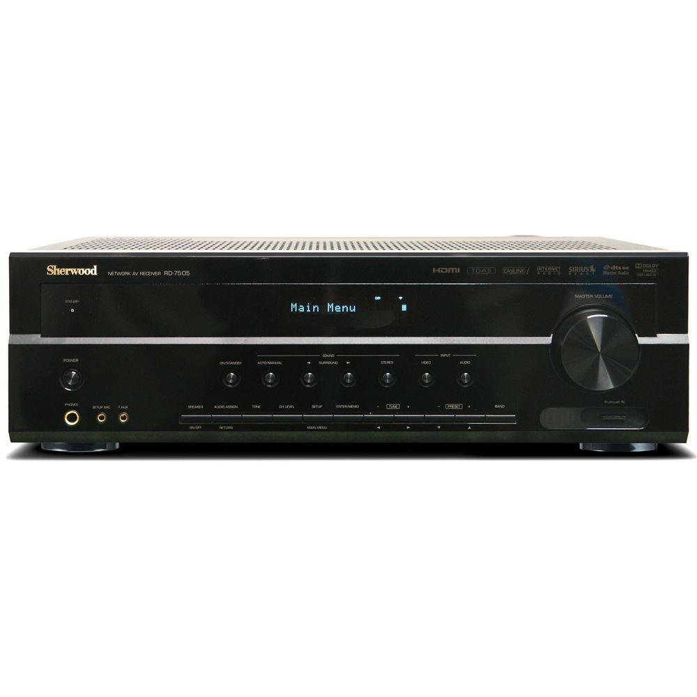 Sherwood 110 Watt 7.1Channel AV Receiver with HD Audio Decoding-DISCONTINUED