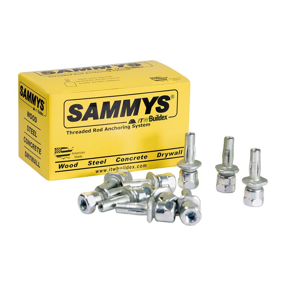 1 In L PK25-8037957 Screw Anchor Sammys Rod Hanger