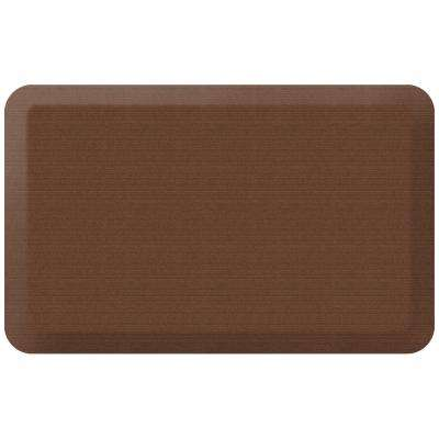 Designer Grasscloth Java 20 in. x 32 in. Anti-Fatigue Comfort Kitchen Mat