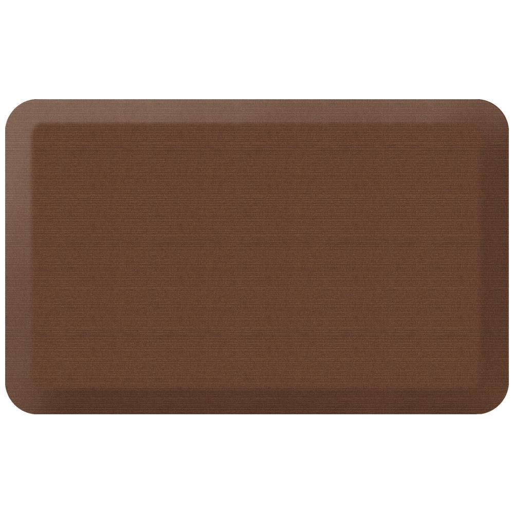 Newlife Designer Grasscloth Java 20 In X 32 In Anti Fatigue Comfort Kitchen Mat 106 23 2032 1