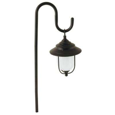 Parker-Style Low-Voltage 10-Watt Black Metal Outdoor Integrated LED Path Light