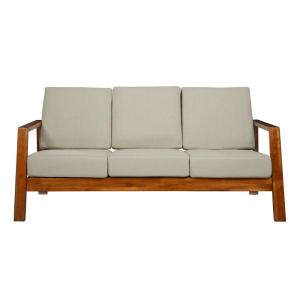 Handy Living Columbus Mid Century Modern Sofa With Exposed