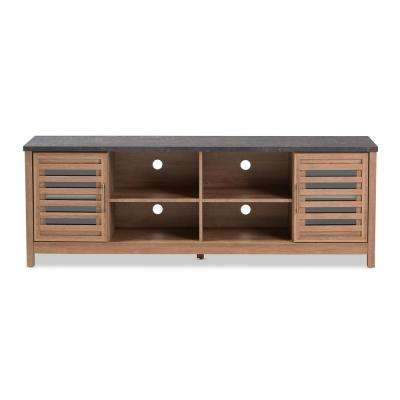 Pacific Light Brown  TV Stand