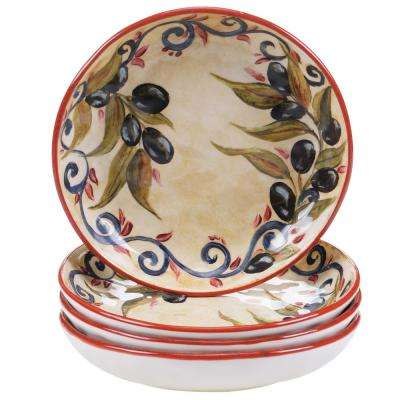 Umbria 8.5 in. Soup and Pasta bowl (Set of 4)