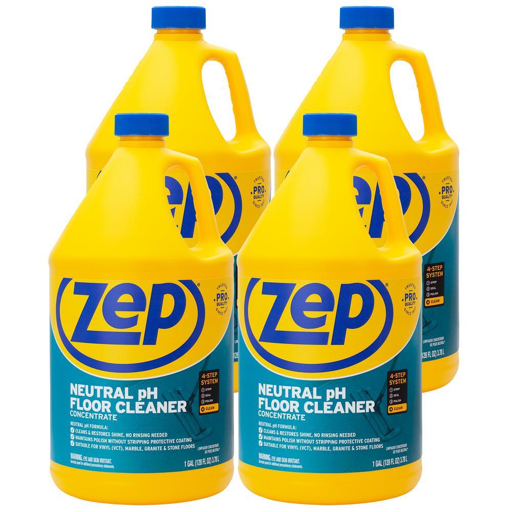 ZEP 1 Gal. Neutral Floor Cleaner (Case of 4)