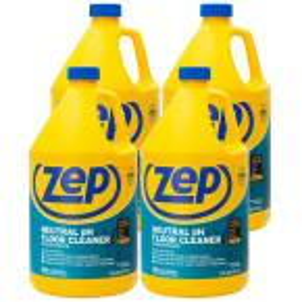 Zep 1 Gal Neutral Floor Cleaner Case Of 4 Zuneut128