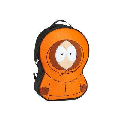 Orange Kenny McCormick Cosplay Backpack Fits Laptops Upto 15 in.