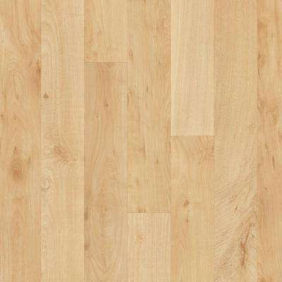 Hazelnut Oak Blonde 13.2 ft. Wide x Your Choice Length Residential Vinyl Sheet Flooring