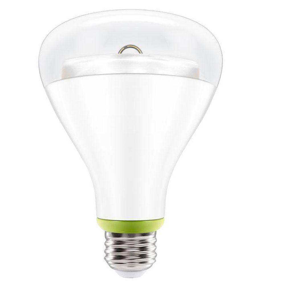 GE Link 65W Equivalent Soft White  2700K  BR30 Connected Home LED Light Bulb. GE Link 65W Equivalent Soft White  2700K  BR30 Connected Home LED