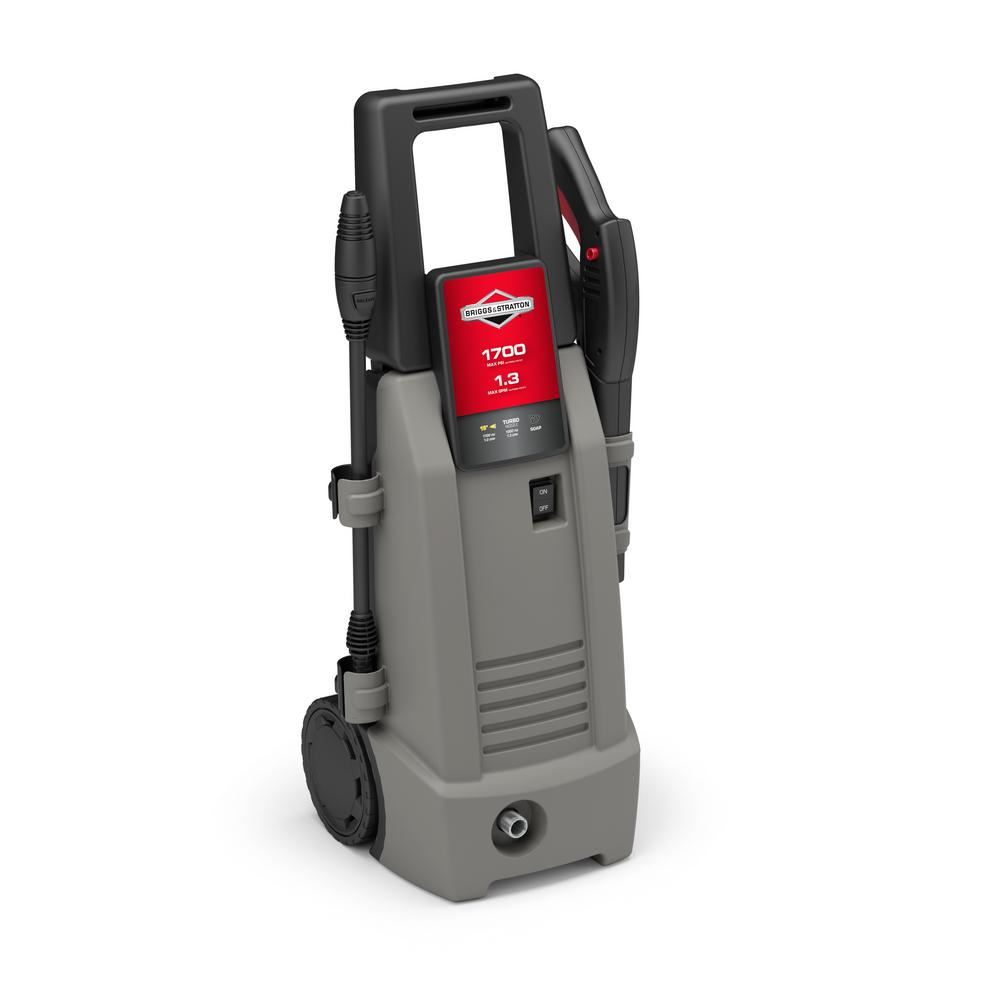1700 Max PSI-1.3 Max GPM, 13.75 amp Electric Pressure Washer