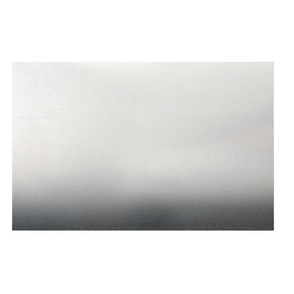 Everbilt 24 in x 36 in 26 Gauge Zinc Metal Sheet The