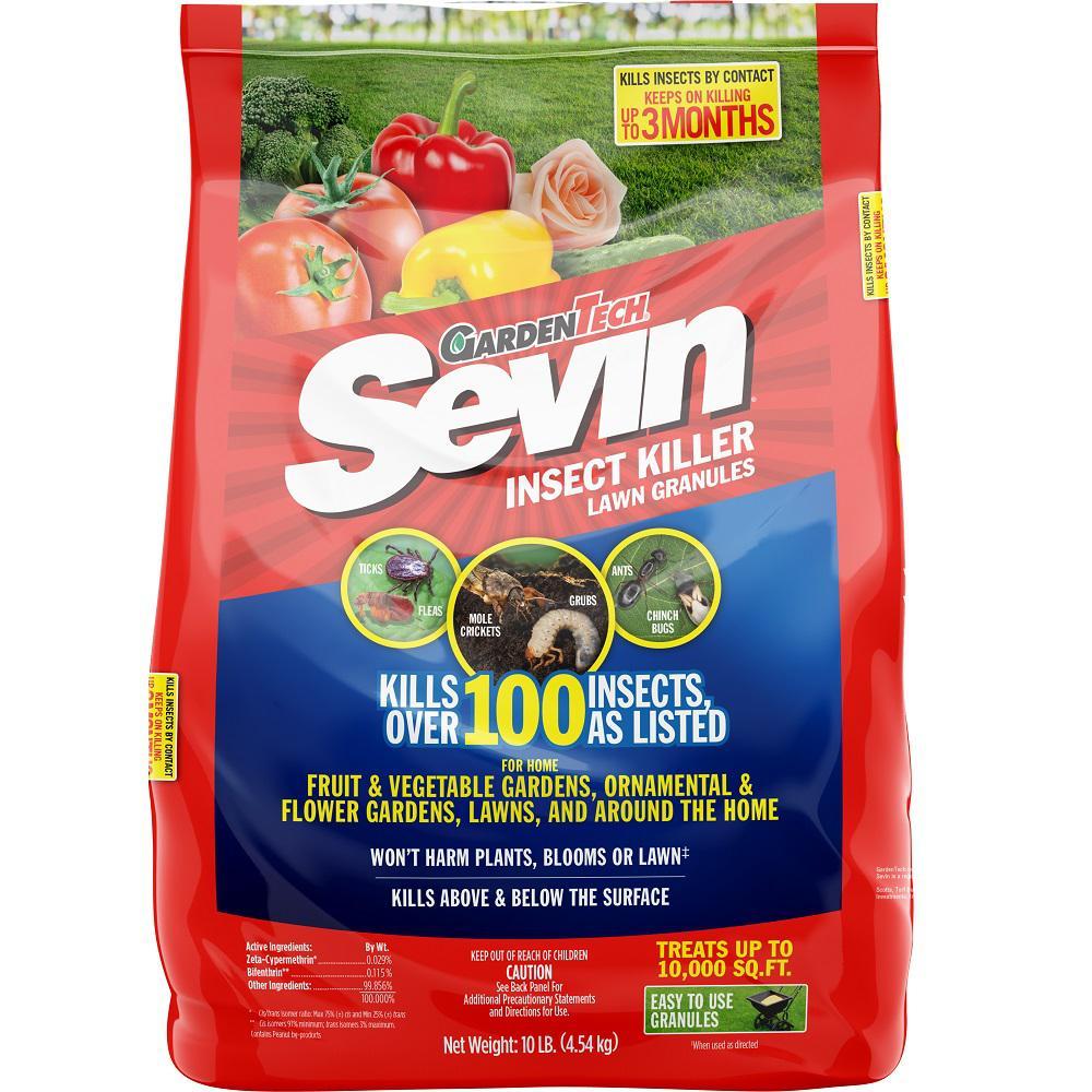Sevin 10 lbs. Garden Insect Granules Killer