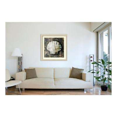 42.50 in. W x 42.50 in. H Marble Shell Series IV by Edward Selkirk Framed Wall Art