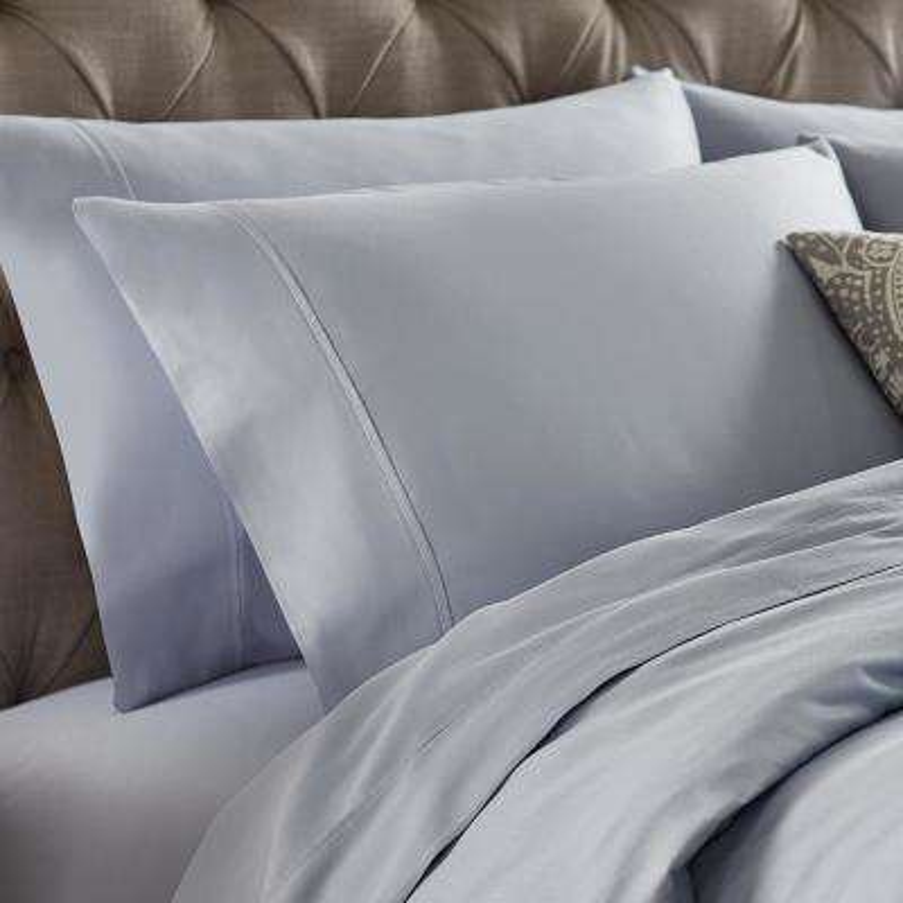 Naples Celestial Blue Queen Pillowcases (2-Pack)