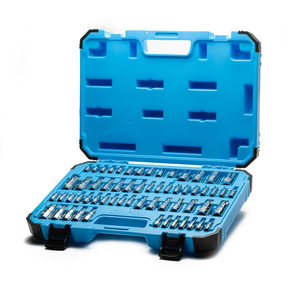 7 Pc Extra Long Torx Star Torq Bit Socket Set T10 ~ T40 J/&R Quality Tools