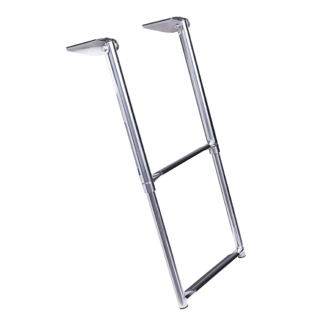 2-Step Telescoping Ladder Only for Universal Swim Platform with Top Mount