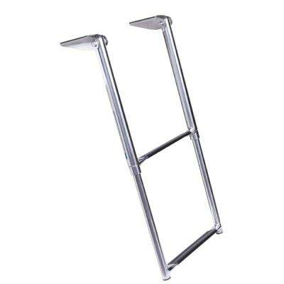 2-Step Telescoping Ladder Only for Universal Swim Platform with Top Mount Ladder