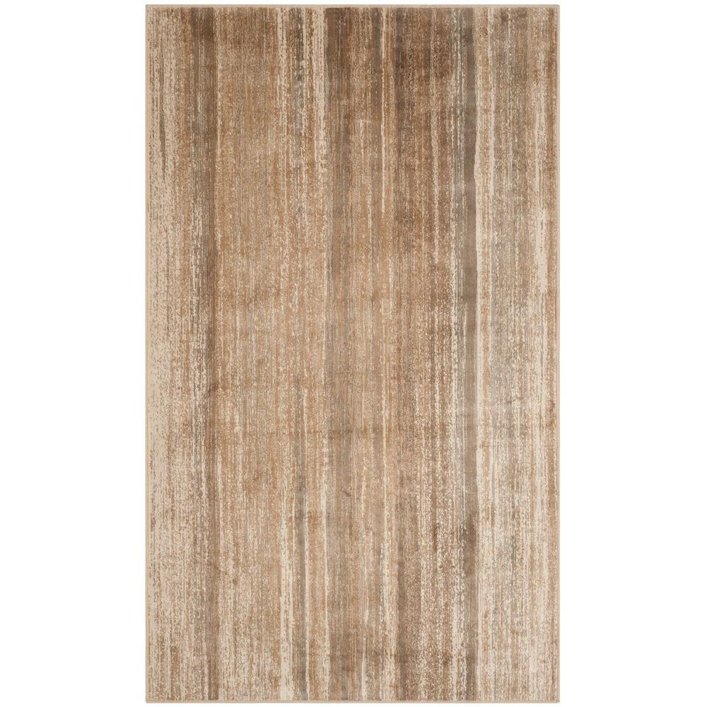 Vintage Caramel 2 ft. 7 in. x 4 ft. Area Rug