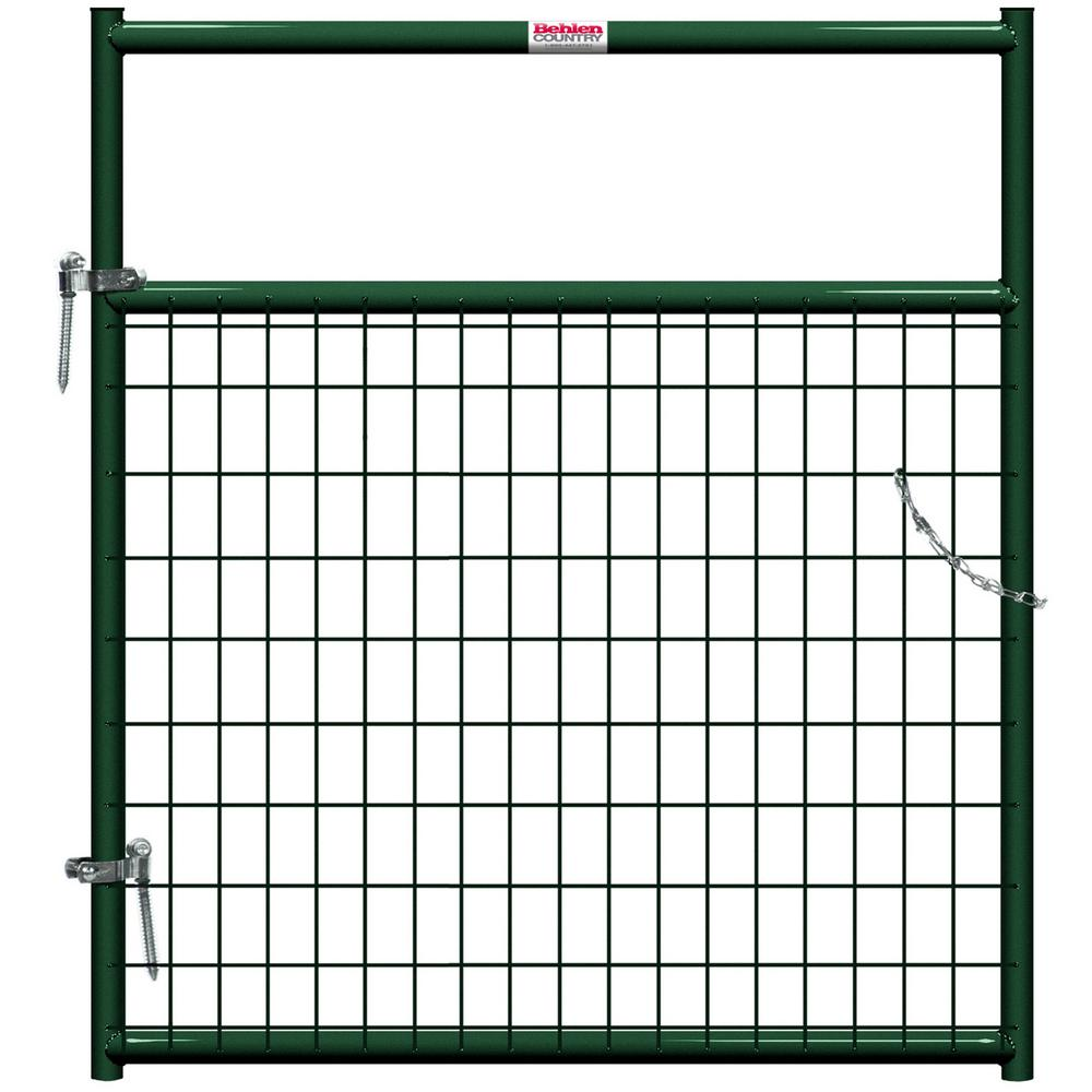 Behlen Country 4 ft. x 1-5/8 in. Dia In-Ground Wire Filled Gate