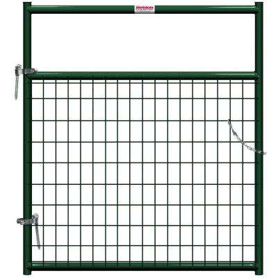 4 ft. x 1-5/8 in. Dia In-Ground Wire Filled Gate