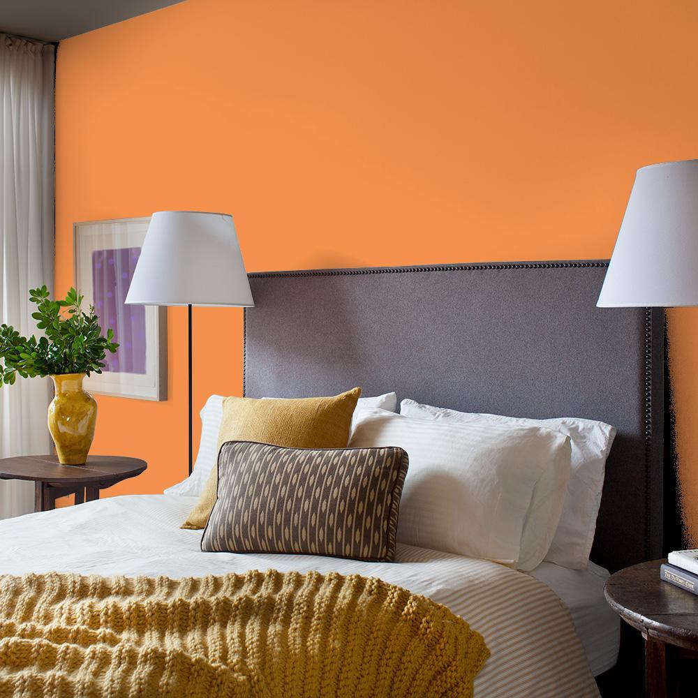 Reviews For Glidden Essentials 1 Gal Hdgo27u Desert Orange Semi Gloss Interior Paint Hdgo27ue 01sn The Home Depot